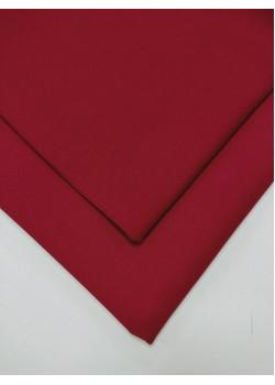 Ткань футер 2 нитка с лайкрой Красная малина