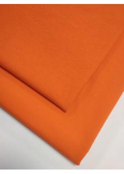 Ткань футер 2 нитка с лайкрой Апельсин