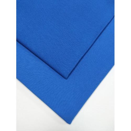 Ткань футер 2 нитка с лайкрой Синий коралл
