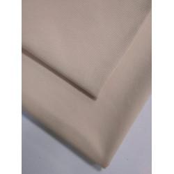 Ткань футер 2 нитка с лайкрой Крем-брюле