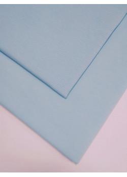 Ткань футер 2 нитка с лайкрой Небесно-голубой