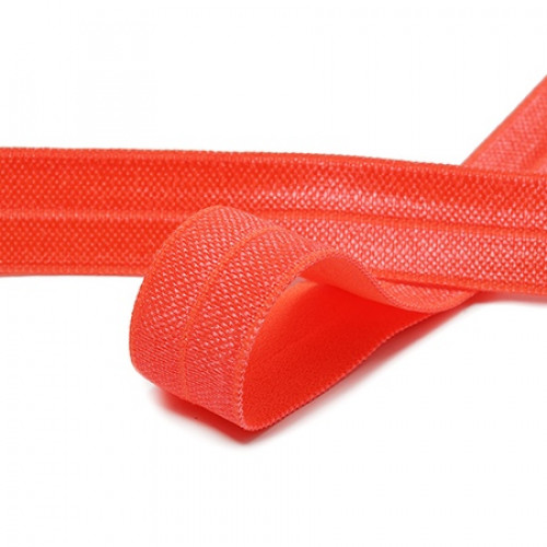 Бейка эластичная (блестящая) Оранжевый (336)
