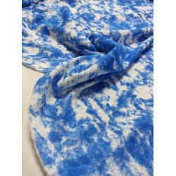 Футер 3 нитка петля Синий коралл Батик