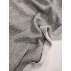 Футер 3 нитка петля Серый меланж (компакт)
