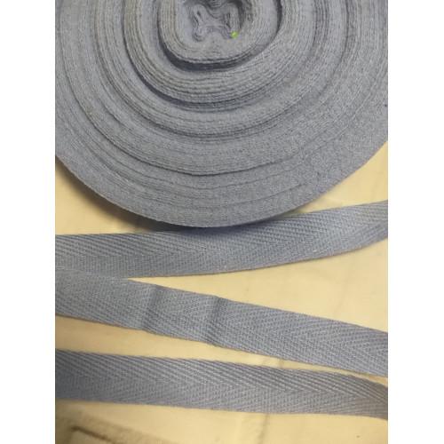 785 Киперная лента Голубая 15 мм