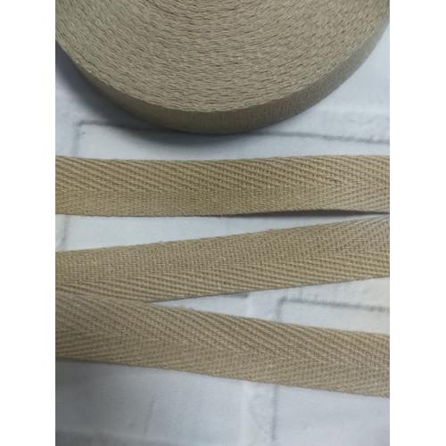 673 Киперная лента Песочный - 15 мм