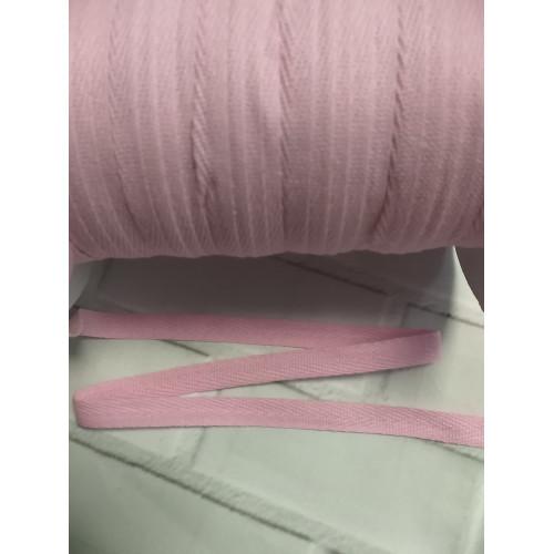 549 Киперная лента Розовый нежный - 10 мм