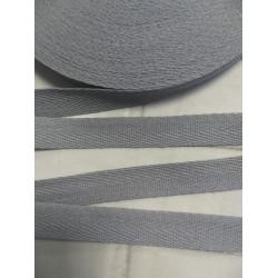 729 Киперная лента Серая - 15 мм