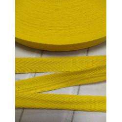 517 Киперная лента Жёлтый (яркий) - 15 мм