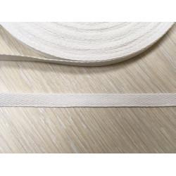502 Киперная лента Белая - 10 мм