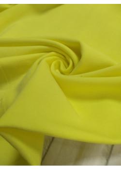 Кулирка с лайкрой Светло-жёлтая