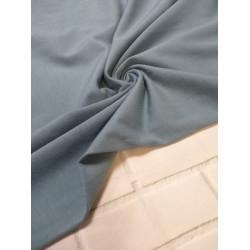 Ткань кулирка с лайкрой Синяя дымка