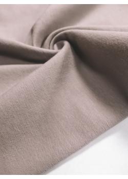 Ткань кулирка с лайкрой Пыльный беж