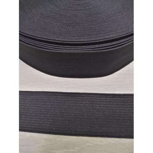 Резинка  черная 30 мм (станд)