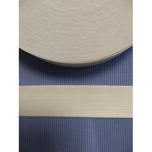 Резинка  белая 35 мм (станд)