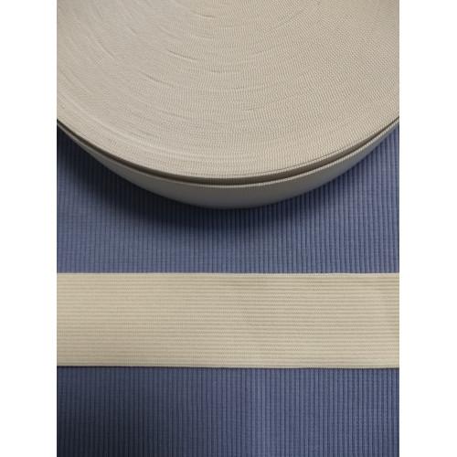 Резинка  белая 40 мм (станд)