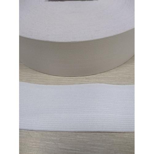 Резинка  белая 45 мм (станд)