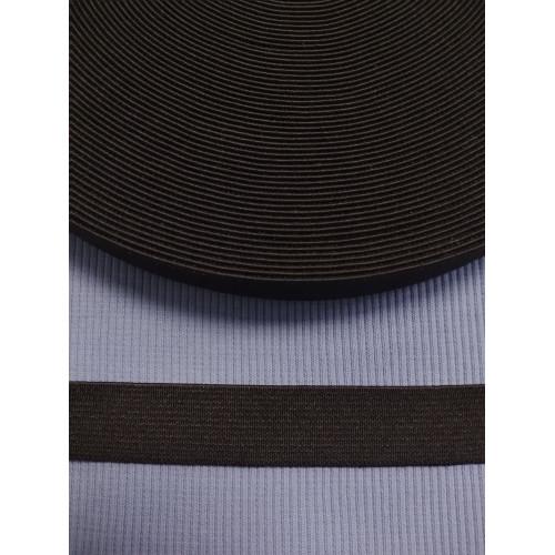 Резинка  черная 20 мм (софт)