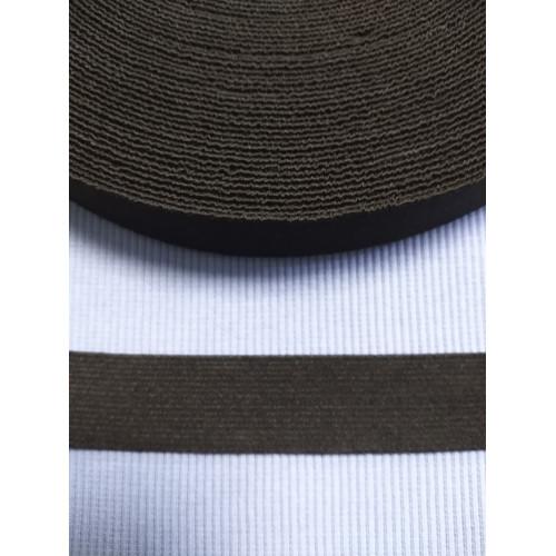 Резинка  черная 25 мм (софт)