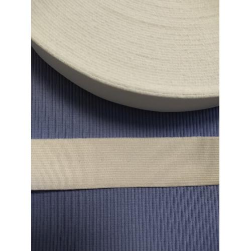 Резинка  белая 30 мм (софт)