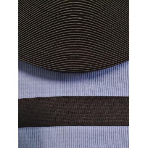 Резинка  черная 30 мм (софт)