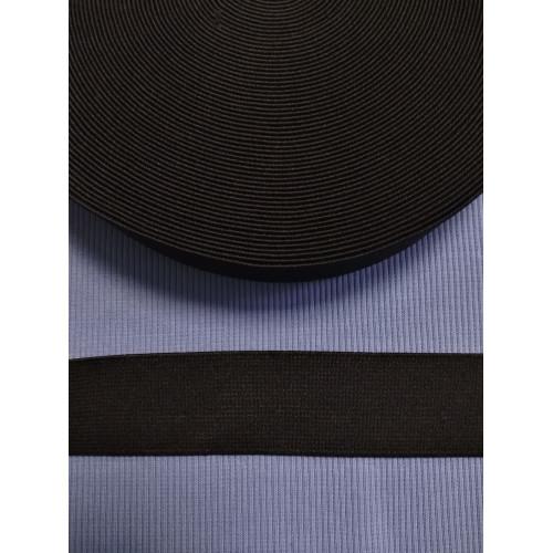 Резинка  черная 35 мм (софт)