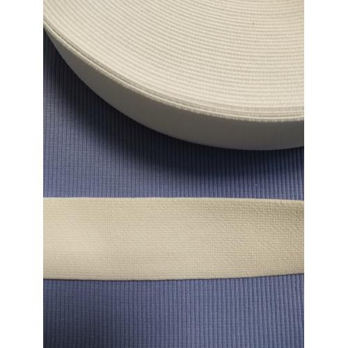 Резинка  белая 40 мм (софт)