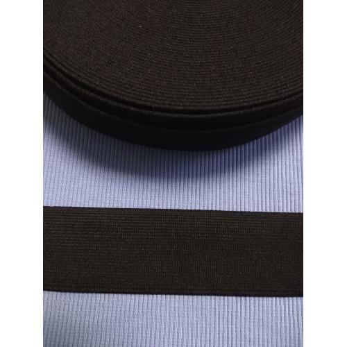 Резинка  черная 40 мм (софт)