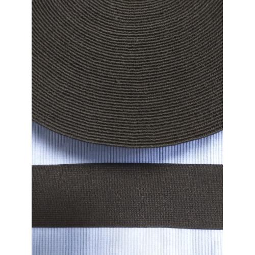Резинка  черная 45 мм (софт)