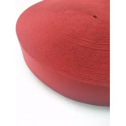 Резинка боксерная (декоративная) красная 30 мм