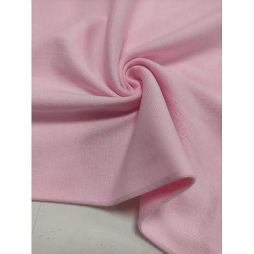 Ткань рибана с лайкрой Розовая (Имр)