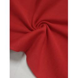 Ткань рибана с лайкрой Красная (Имр)