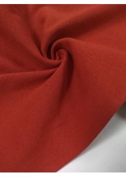 Ткань рибана с лайкрой Красная (дн)