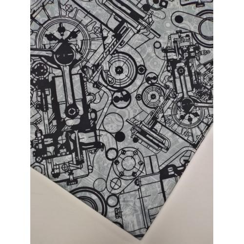 Футер 2 нитка с лайкрой Механика