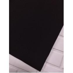 Ткань футер 2 нитка с лайкрой Черный