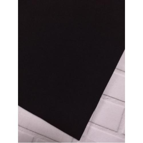 Футер 2 нитка с лайкрой Черный