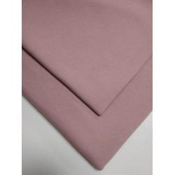 Футер 3 нитка петля Розовая дымка