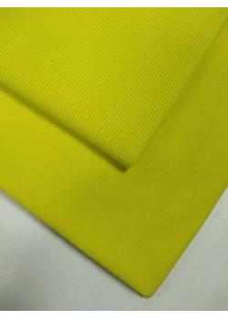 Футер 3 нитка петля Жёлтый яркий