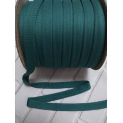 Шнур полиэстер плоский Бирюзовый 14мм (025)