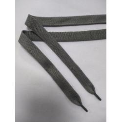 Шнурок пэ плоский Серый 14 мм 150 см