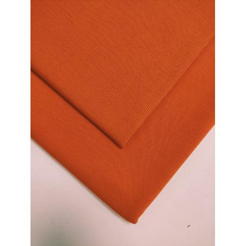 Ткань футер 2 нитка с лайкрой Оранж (компакт)