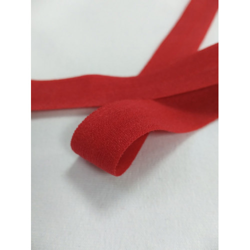 Бейка эластичная (матовая) Красная (148)