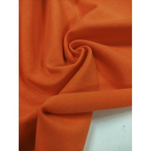 Ткань кулирка с лайкрой Оранж (компакт)